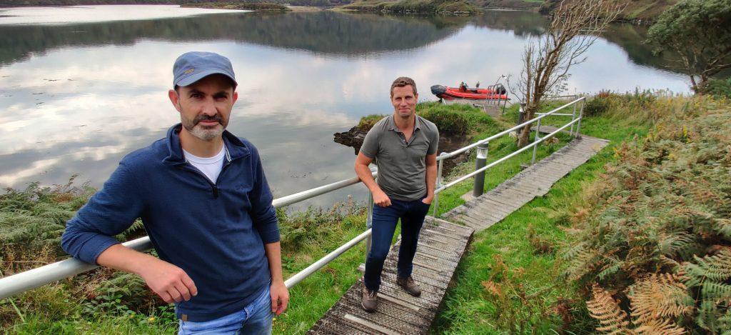 Light - Lough Hyne Bioluminescence - Jonathan and Tom Doyle