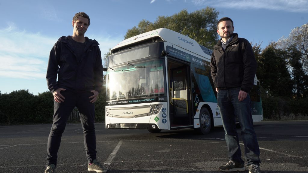 Hydrogen Bus Trial - Jonathan and James Carton 1